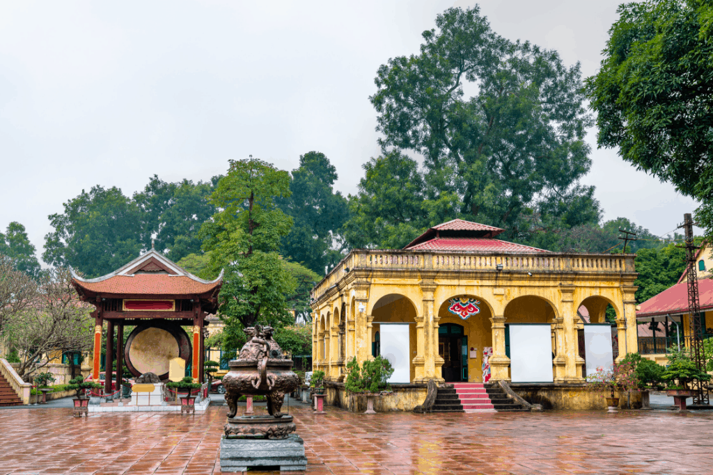 The historic beauty of the Imperial Citadel of Thang Long in Hanoi.