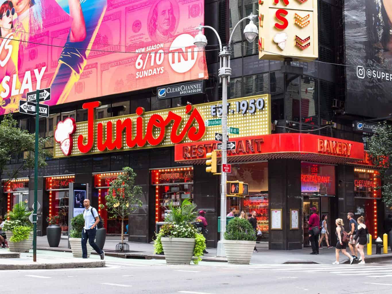 Juniors Cheesecake storefront
