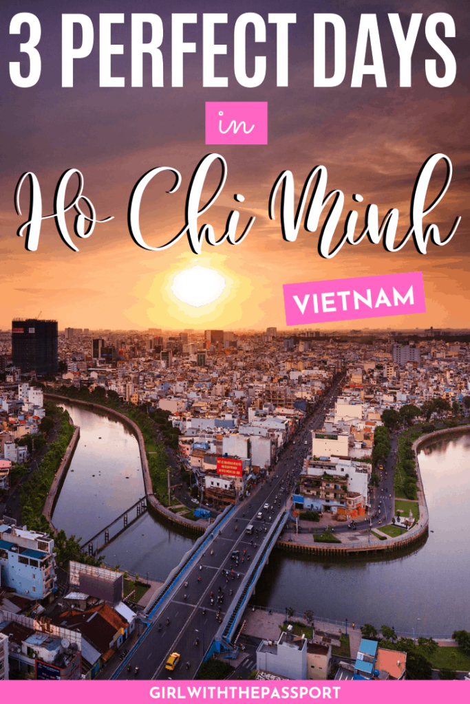 Visiting Ho Chi Minh, Vietnam but have no idea what to do or where to go? Then check out this fantastic, 3 day Ho Chin Minh itinerary! It's filled with expert tips, secret tricks, and hidden gems that will all help you make the most of your time in Vietnam. You'll also learn about some of the best places to eat and even discover some top tourist attractions that really are worth a visit! #VietnamTravel #VisitVietnam #HoChiMinh #VietnamGuide