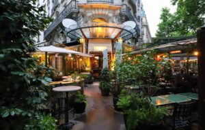 The ethereal beauty of Paris' notable, La Closerie des Lilas.