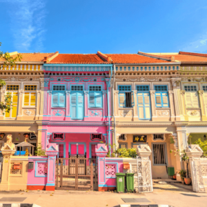 Find out what you need to know about your first time in Singapore, like the fact that you need to visit these colorful, Peranakan Houses.