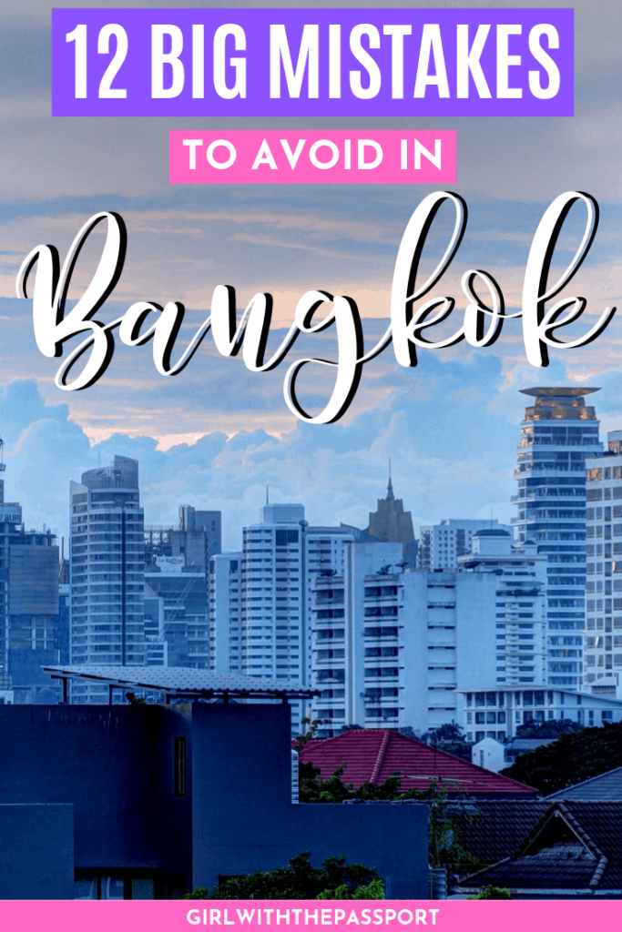 Big Mistakes To Avoid When Planning A Trip To Bangkok | First Time in Bangkok Mistakes | what to do in Bangkok | how to travel to Bangkok | Top attractions in Bangkok | don't miss these spots in Bangkok | Beautiful Places in Thailand | Scams to avoid in Bangkok | how to travel through Bangkok | Bangkok Travel Tips | Travel guide for Bangkok | When to Visit Bangkok | Bangkok Itinerary #TravelBangkok #BangkokThailand #BangkokGuide