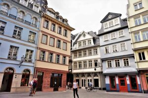 The charming, old-world beauty of Frankfurt, Germany.