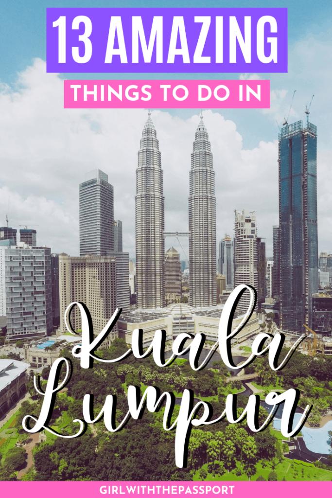 Kuala Lumpur Malaysia | Kuala Lumpur Travel | Kuala Lumpur Things to do | Kuala Lumpur Itinerary | KL Tower | Kuala Lumpur Photography | Kuala Lumpur Guide | Kuala Lumpur Travel Tips | #KualaLumpur #TravelMalaysia #TravelKL #TravelKualaLumpur