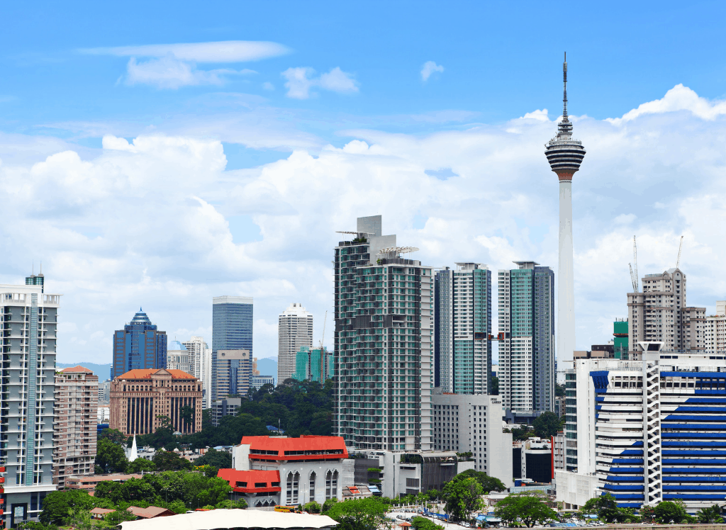 If you have time, be sure to ascend to the top of the Menara Kuala Lumpur for stunning views of the city.