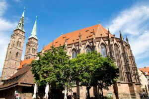Nuremberg's historic, St. Lorenz Church.