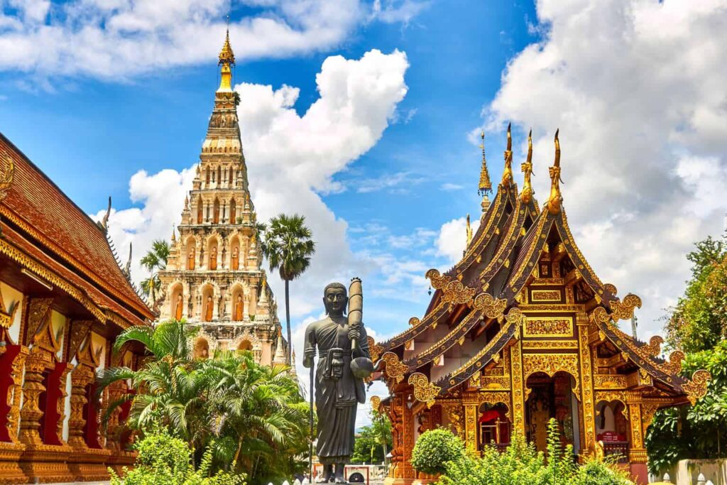 Just some of the amazing Wats (AKA temples) that you'll see as you travel through Thailand.
