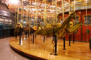 Take a ride aboard the Bronx Zoo's signature bug carousel and enjoy one of the most unusual things to do in NYC.