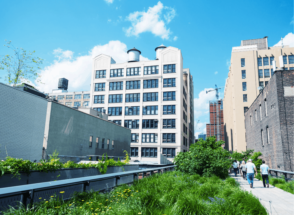 Elevated Acre is one of the few parks in NYC that still remains unknown to most visitors.