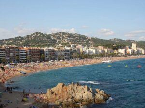 The beautiful, beachside beauty of Lloret de Mar in the Costa Brava region of Spain.