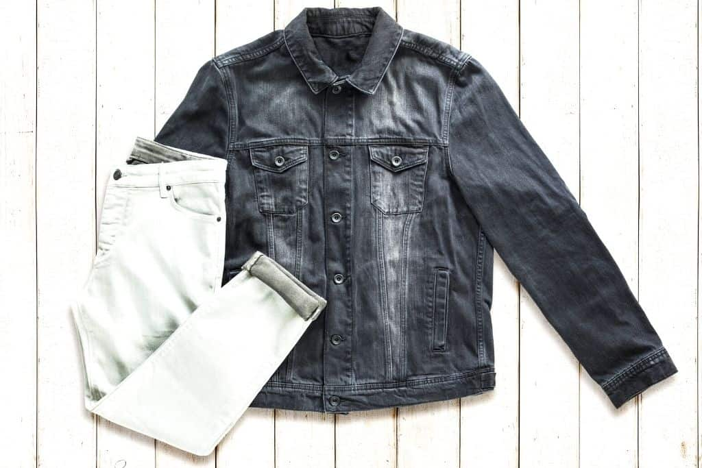 Old school denim jacket and jeans from Monk Vintage