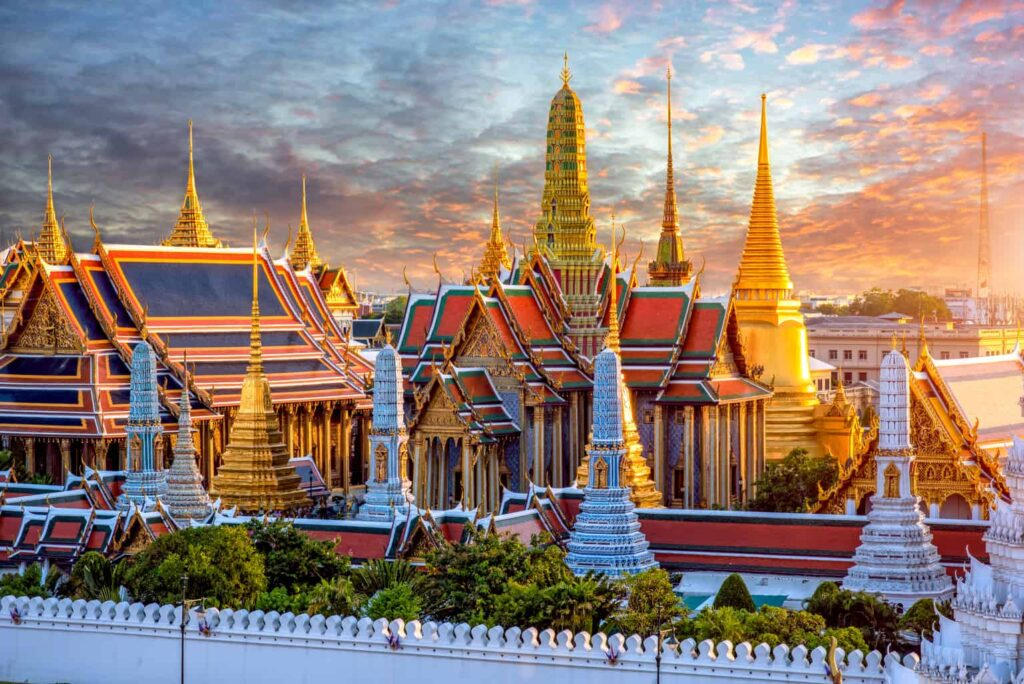 The Grand Palace's vibrant beauty makes it one of the best places to visit in Bangkok.