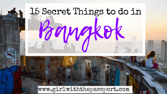 15 Unique and Fun Things to do in Bangkok