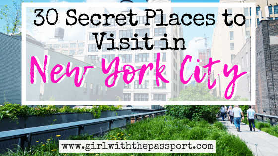 30 Unusual Things to do in NYC (with SECRET tips from a local)