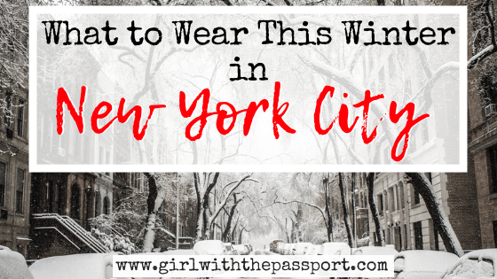What to Wear in New York in Winter (with secret tips from a local)