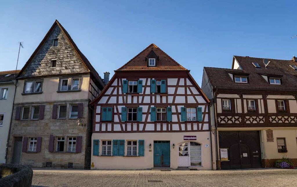 The small town charm of Germany's Franconian Switzerland.