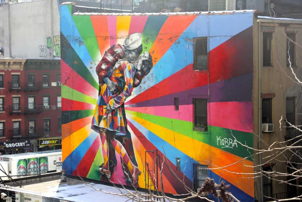 Just some of the amazing street art that you'll find all over NYC.