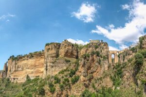 The mountainous beauty of Ronda, Spain.