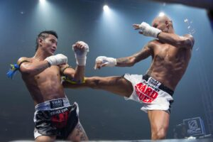 Enjoy the fun and excitement of a live, Muay Thai match in Bangkok.
