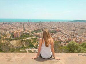 A beautiful view of Barcelona, one of the best Spain holiday destinations out there.