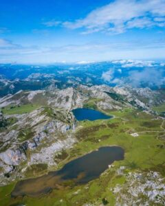 The awe-inspiring, natural beauty of Picos de Europa National Park in Northern Spain.
