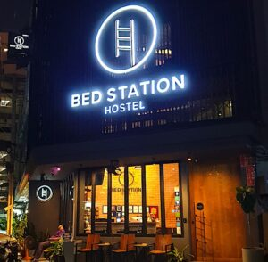 Bed Station Hostel is one of the many nice, but affordable hostels that you can find in Bangkok.