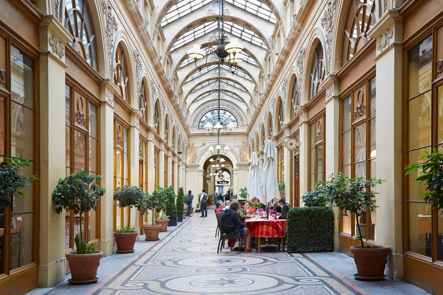 One of the many unusual things to do in Paris is to visit Gallerie Vivienne, one of the many beautiful covered passageways in Paris. Gallerie Vivienne is one of the many beautiful covered passageways in Paris.