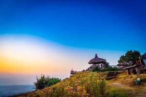 As you solo travel Thailand, take some time to stop and enjoy the natural beauty of Pai at sunrise.