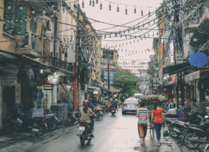 Big cities like a Hanoi can be quite chaotic and noisy. Therefore, try and wear earplugs to drown out the noise and help you sleep in the evening