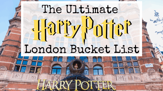 24 Astounding Harry Potter Things to do in London!