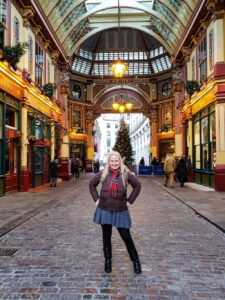 Stop by Leadenhall Market in London, a historic covered market that makes an appearance in the first Harry Potter film, as Harry and Hagrid are first walking to the Leaky Cauldron and Diagon Alley!