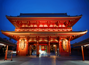 On day two, you'll see the more traditional side of Tokyo and visit Sensoji Temple, an ancient Buddhist temple in Asakusa.