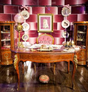The office of none other than Delores Umbridge, at the Harry Potter Studio Tour.