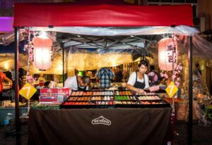 Enjoy all of the amazing street food that you'll find at Phuket's Walking Street Night Market.