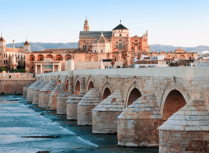 As you solo travel Spain, stop by Cordoba and enjoy the city's ancient history, as well its walls filled with a colorful assortment of potted plants.
