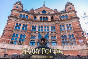 Be sure to see Harry Potter and the Cursed Child at the Palace Theater in London.