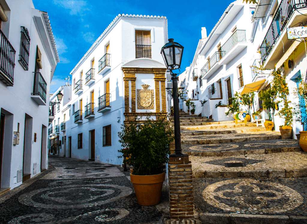 Some of the charming, white villages that you'll find in Spain.