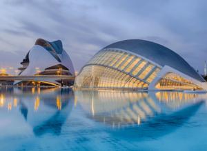The immortal, Ciudad de las Artes y las Ciencias in Valencia, Spain.