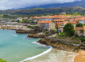 The coastal beauty of Llanes, Spain.