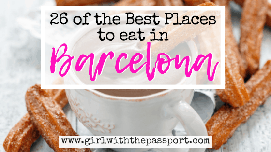 Where to Eat in Barcelona: 26 of the BEST Places to Eat in Barcelona
