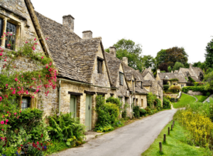 Some of the quaint, English villages that you'll find all throughout the Cotswolds.