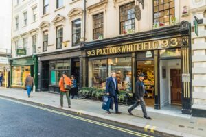 The only place that you should be buying cheese in London is Paxton & Whitfield.