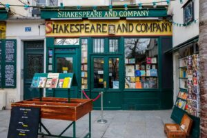 Stop by the wonderfully unique Shakespeare and Company bookstore and discover some of the coolest Paris souvenirs out there.