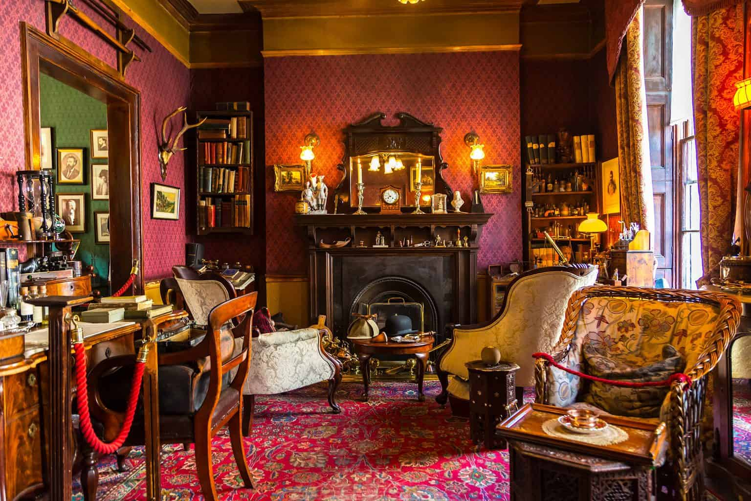 Stop by the beautiful Sherlock Holmes Museum at 221 B Baker Street, truly one of the most unusual things to do in London.