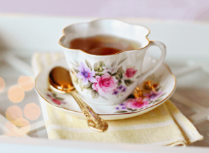 Don't forget to pick up a pastel-hued, hand-painted, floral-themed teacup (or mug) during your time in London!