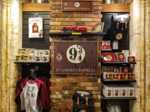 Some of the Harry Potter-inspired, London souvenirs that you'll find at The House of Spells.