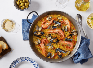 Some of the amazing seafood you'll find in Barcelona's Passadis del Pep.