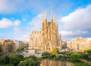 Stop by the La Sagrada Familia gift shop and purchase a replica of the immortal structure.