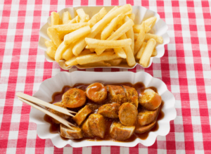 Visit EAT Berlin and be sure to take the Currywurst flavor home with you.