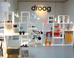 Some of the amazing products that you'll find at the Droog store in Amsterdam.